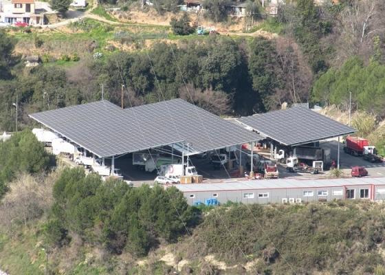 Production d'énergie solaire photovoltaïque-Nice PAL II