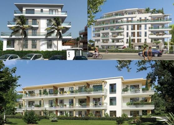 Programmes de 3 immeubles de logements