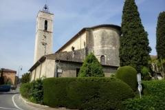 Rénovation église-La Colle sur Loup