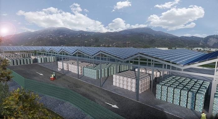 Centre de recyclage Véolia Propreté